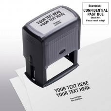 Design Your Own Stock Stamp, Large - Self-Inking - 103048C