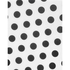 Black Dots on White Tissue Paper, 20 x 30\