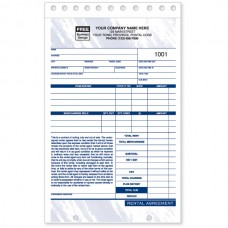 Product / Equipment Rental Agreement Forms (Triplicate/3-Parts)