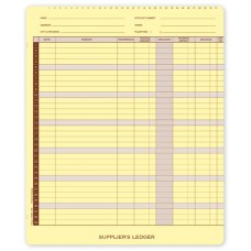 Account Receivable Ledger Cards - 1655M