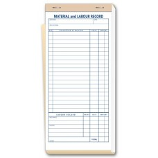 Contractor Materials and Labour Record Books - 230