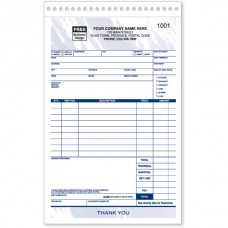 Sales & Service Order Forms (Duplicate/2-Parts)