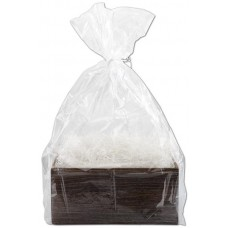 Clear Basket Bags, 28 x 32\