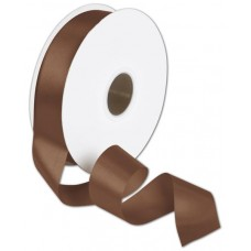 Double Face Chocolate Satin Ribbon, 1 1/2\