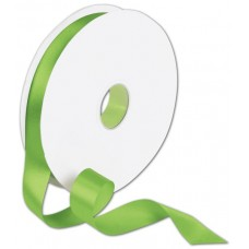 Double Face Apple Green Satin Ribbon, 7/8\
