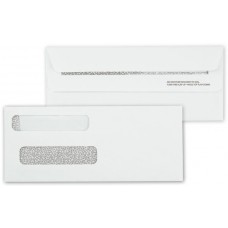Double Window Self Seal Cheque Envelope - 92552