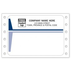 Continuous Mailing Labels (Imprinted/CC1214)