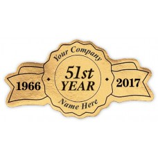 Anniversary Labels - Gold (Imprinted/CC364G)