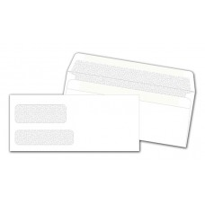 Double Window Confidential Envelope, Self-Seal - DW3787S