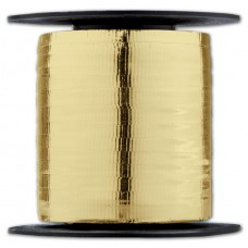Curling Metallic Gold Crimped Ribbon, 3/16\