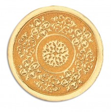 Gold Medallion, Embossed Foil Seals - H1113