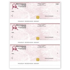 DESIGN 3 PER PAGE LASER CHEQUE (Original/1-Parts)