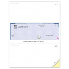 High Security Laser Middle Cheque (Original/1-Parts)