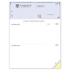 High Security Laser Top Cheque (Duplicate/2-Parts)