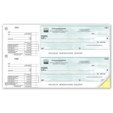 2-TO-A PAGE CHEQUE (Original/1-Parts)