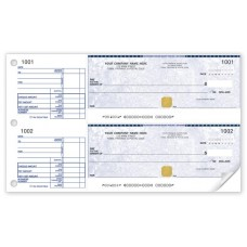 SECURITY 2-TO-A-PAGE CHEQUE (Duplicate/2-Parts)